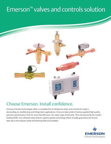 Valves & Controls Solution - Emerson Commercial