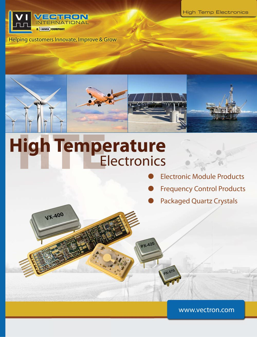 High Temperature Electronic Module Brochure. - Vectron ...