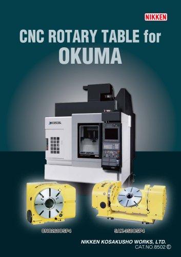 de0505b3bfa8b CNC ROTARY TABLES FOR OKUMA - NIKKEN KOSAKUSHO - PDF Catalogs ...