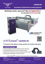 B5 Economical Table Plasma CNC Cutting Machines