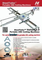 SteelTailor Portable CNC Cutting Machine(Valiant Series)-English