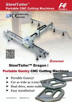SteelTailor Portable CNC cutting machines(Dragon)
