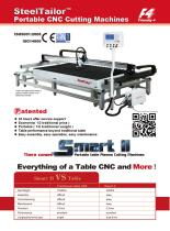 SteelTailor- Smart ⅡPortable plasma cutting machines