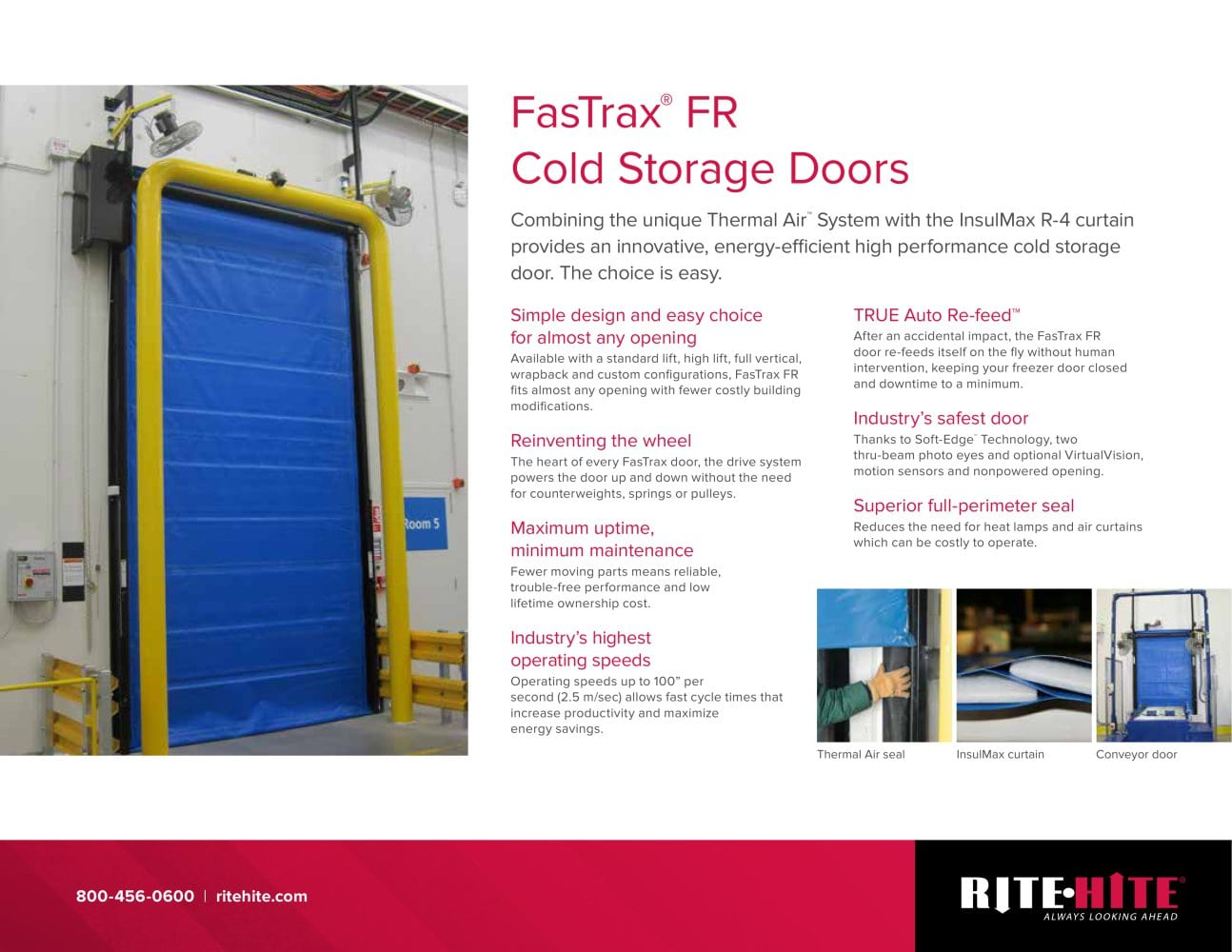 FasTrax FR - 1 / 2 Pages  sc 1 st  Catalogues Directindustry & FasTrax FR - Rite-Hite - PDF Catalogue | Technical Documentation ...