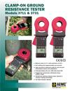 3711 Clamp-On Ground Resistance Testers