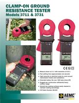 3731 Clamp-On Ground Resistance Testers 