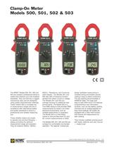 500 Clamp-On Meters 