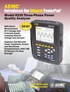 8335 with MN93-BK Three-Phase Power Quality Analyzers