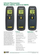 CA876 Infrared Thermometers