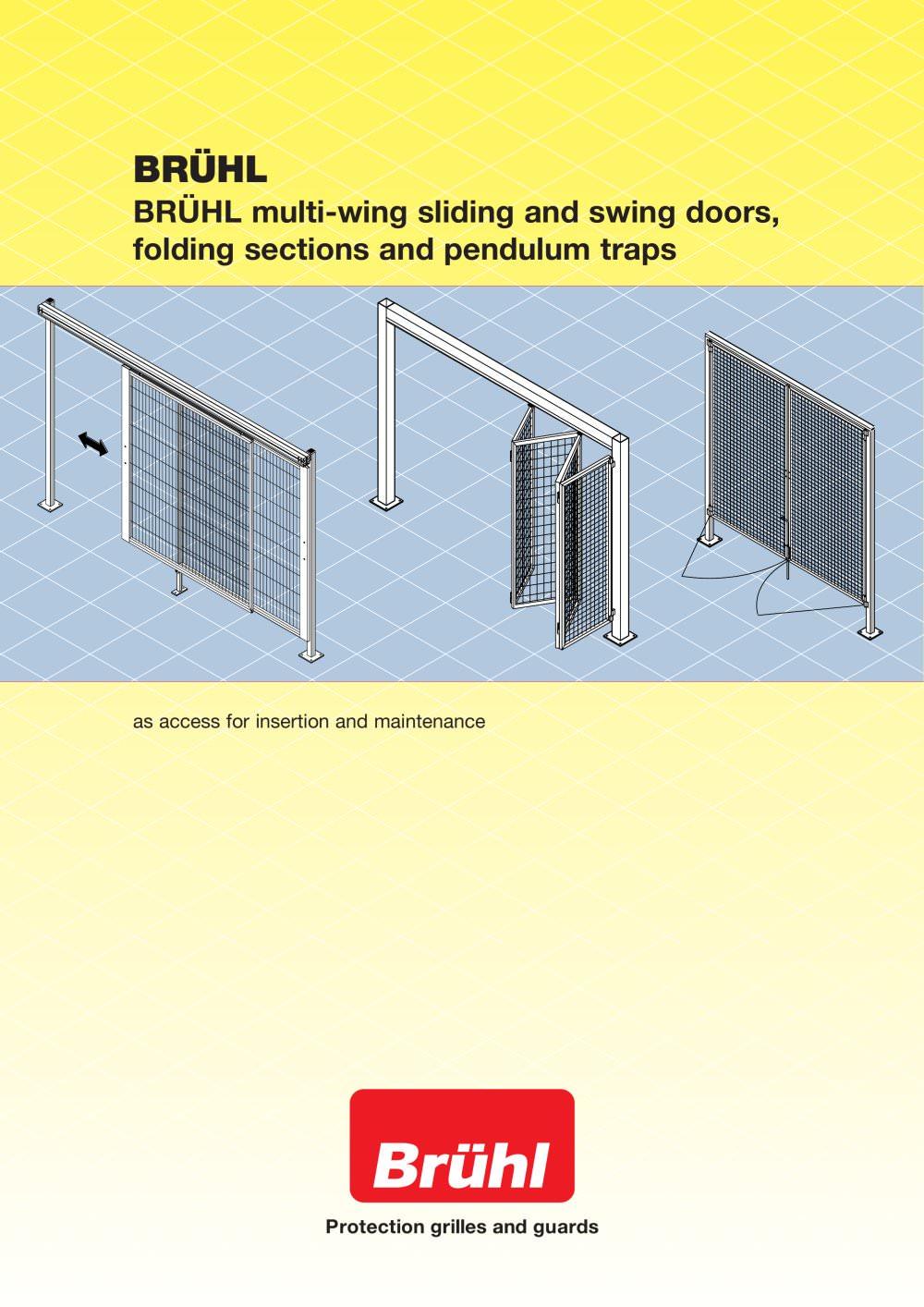 Sliding Door Swing Door Folding Section - HANS GEORG BRÜHL - PDF ...