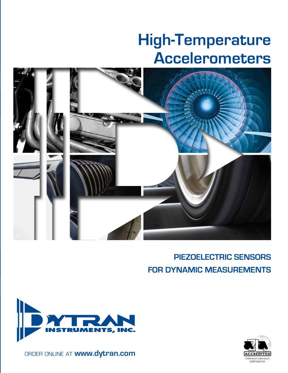 Piezoelectric Accelerometers for High Temperature