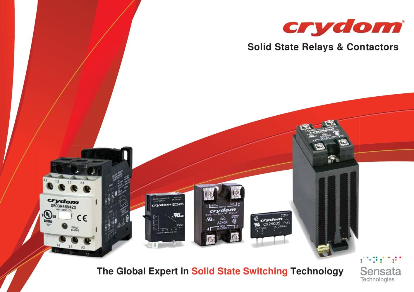 Solid State Relays Contactors Sensata Technologies Pdf Relay Crydom 1 84 Pages