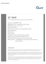ST 70FR - Fire Retardant Glass Structural SPRINT (v9)