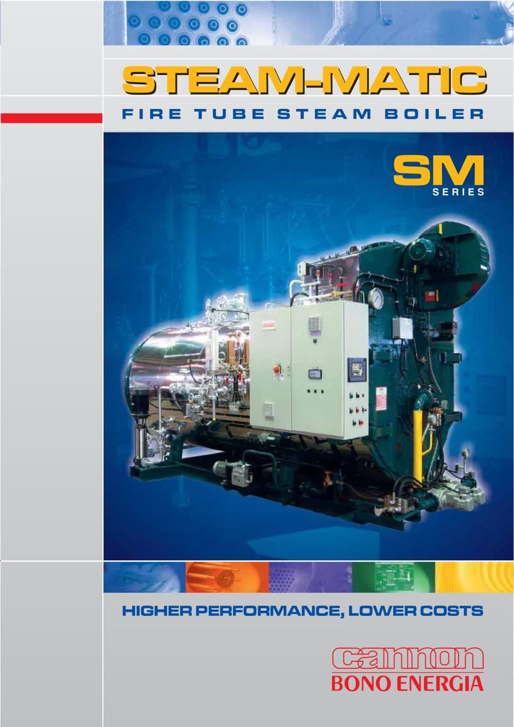 BONO ENERGIA: Fire Tube Steam Boiler mod. SM - Bono Energia - PDF ...