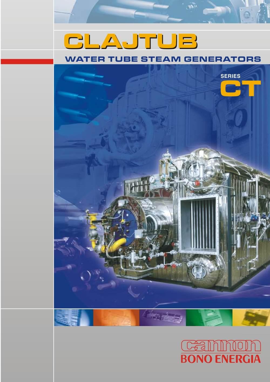 Water tube steam boilers mod. CT - Bono Energia - PDF Catalogue ...