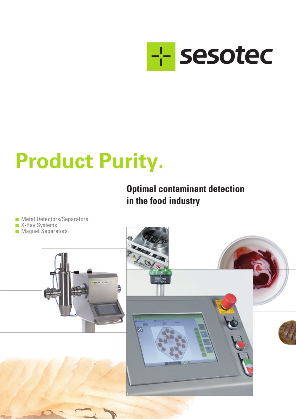 Optimal Contaminant Detection In The Food Industry Sesotec Gmbh