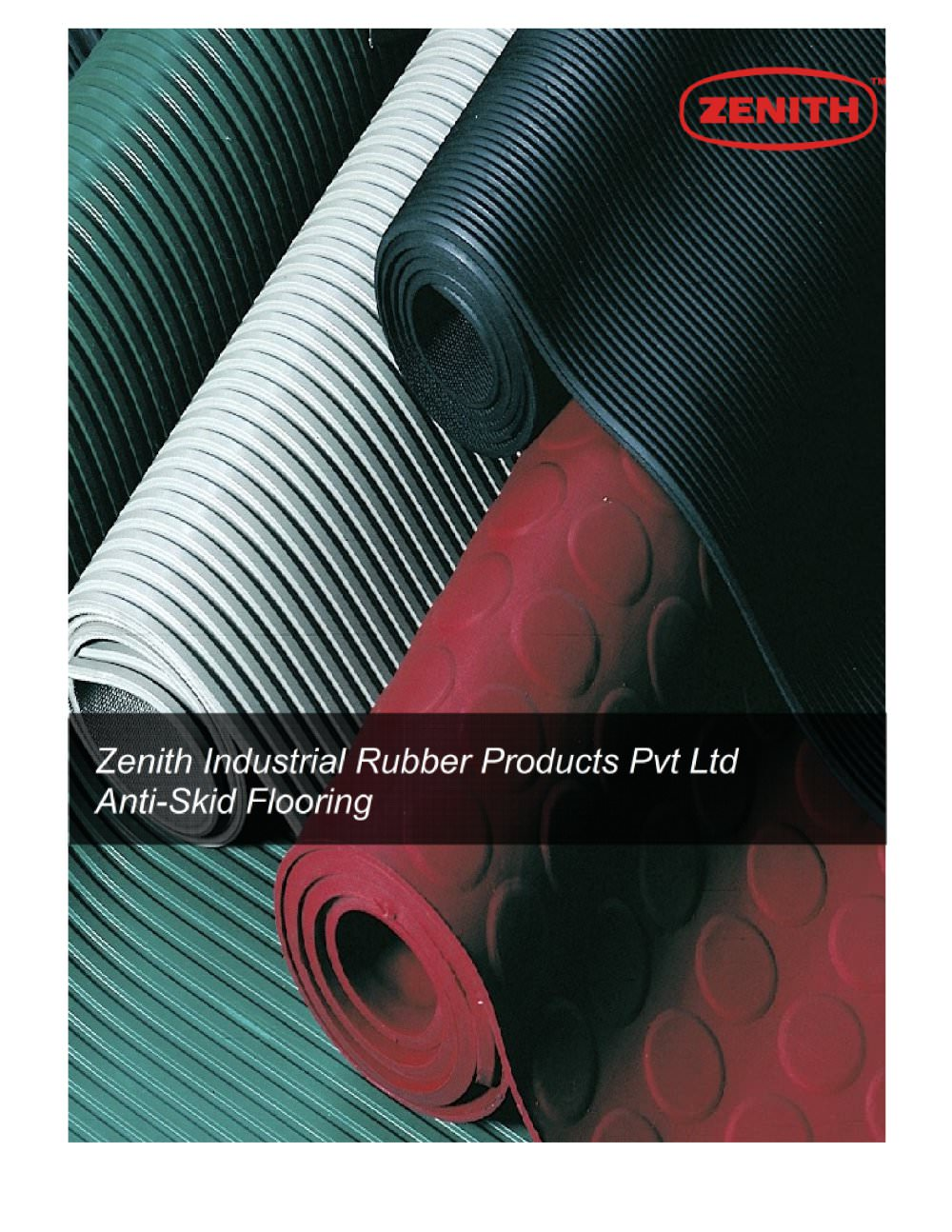 Anti Skid Catalog Zenith Industrial Rubber Products Pvt Ltd - Anti skid flooring material