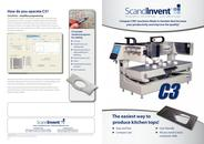 C3 milling and engraving machine for stone