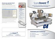 C4 mill and engraving machine for stone