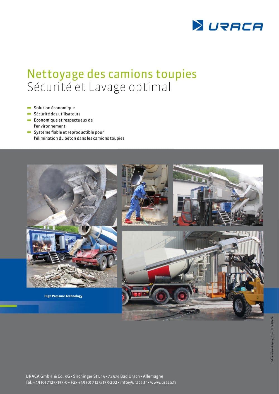 Nettoyage Des Camions Toupies Securite Et Lavage Optimal Uraca