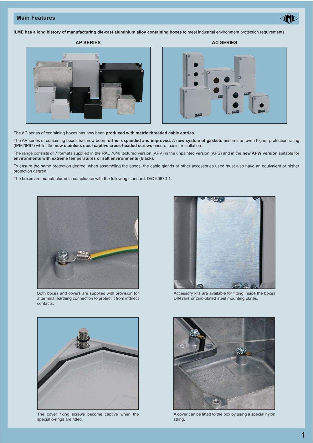 AP-AC - ILME - PDF Catalogue | Technical Documentation | Brochure