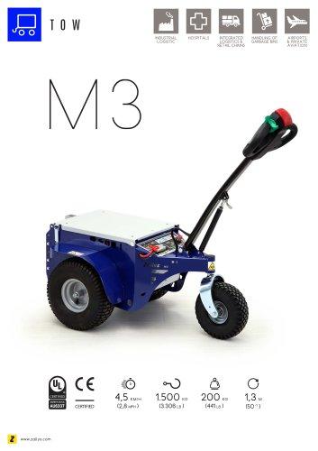 M3 electric pedestrian tug