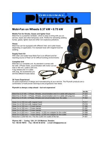 Mobi-Fan on Wheels 0.37 kW ? 0.75 kW