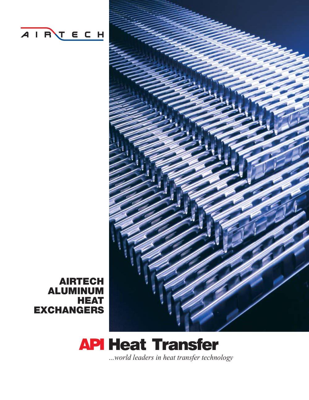 Airtech Aluminum Heat Exchangers - API Schmidt-Bretten, API Heat ...