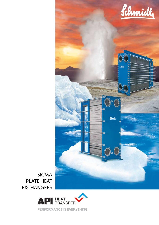 SIGMA Plate Heat Exchangers - API Schmidt-Bretten, API Heat Transfer ...