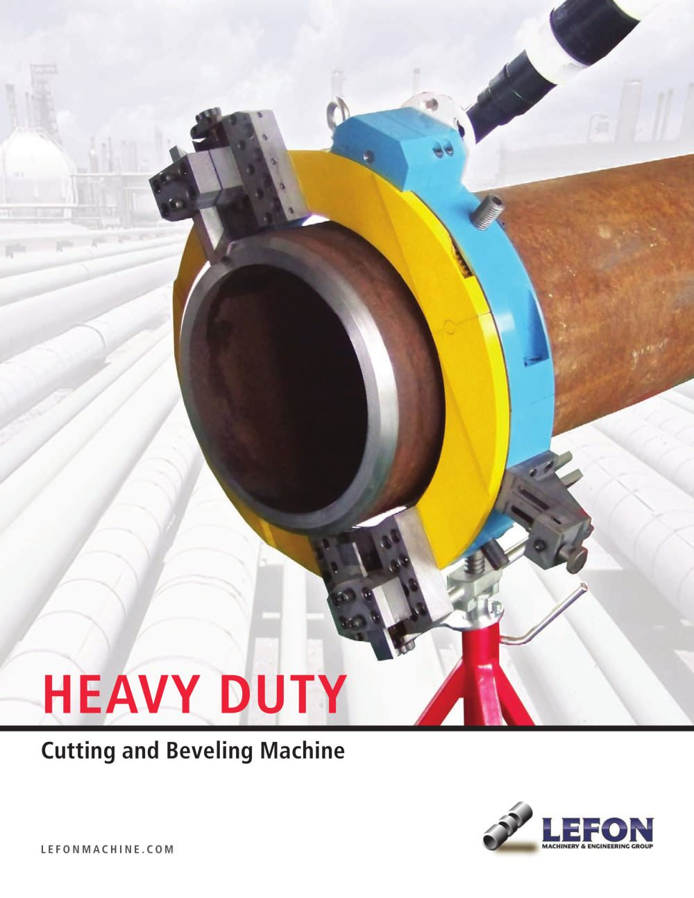 Heavy Duty Pipe Cutting and Beveling Machine(Split Frame Clamshell ...