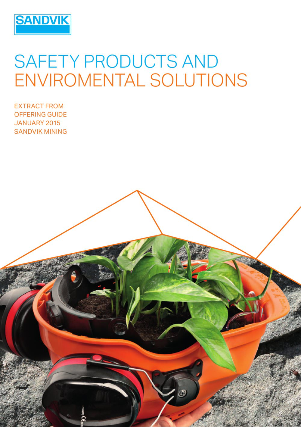 Sandvik safety and environmental products - 1 / 12 Pages