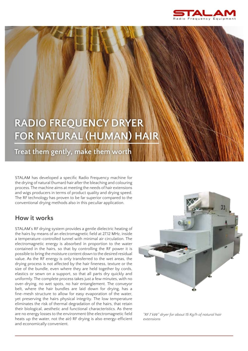 Dryers For Natural Hair Extensions Stalam Spa Pdf Catalogue