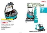 Mini Excavator AX27u / AX30u / AX35u / AX40u / AX50u