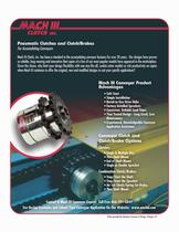 Mach III Conveyor Clutches & Clutch-Brake Combinations