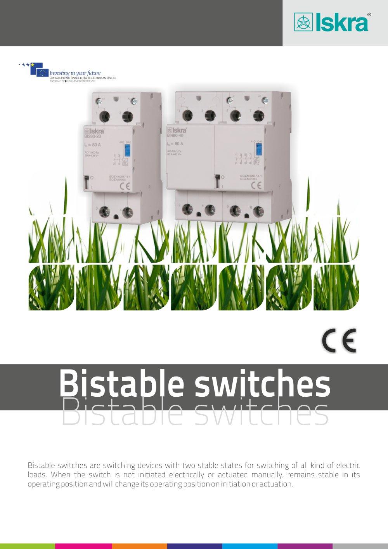Iskra Terminal Wiring Diagram 2 Femsa Braun Bistable Switch Dd Pdf Catalogue Technical On
