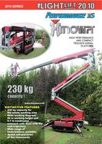 Tracked aerial platform Lightlift 20.10 Performance IIIS