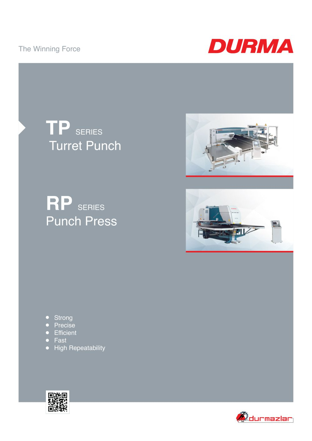 TP Turret Punch Press - 1 / 15 Pages