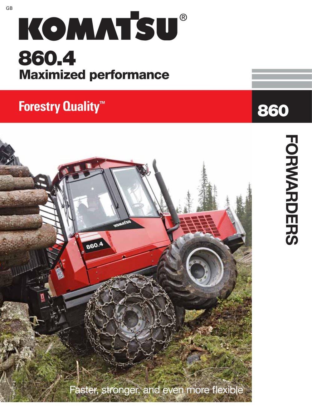 komatsu 860 4 komatsu forest pdf catalogue technical rh pdf directindustry com Valmet Paper Valmet Gun