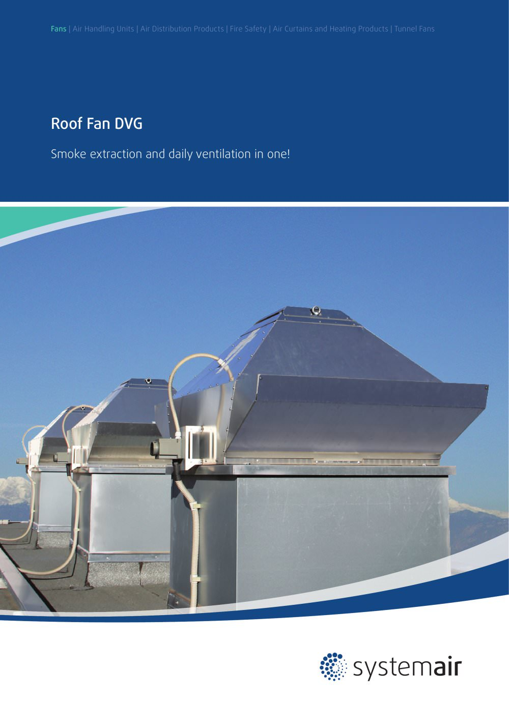 Roof Fans DVG   1 / 12 Pages