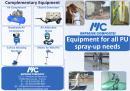 Machines for PU spray-up