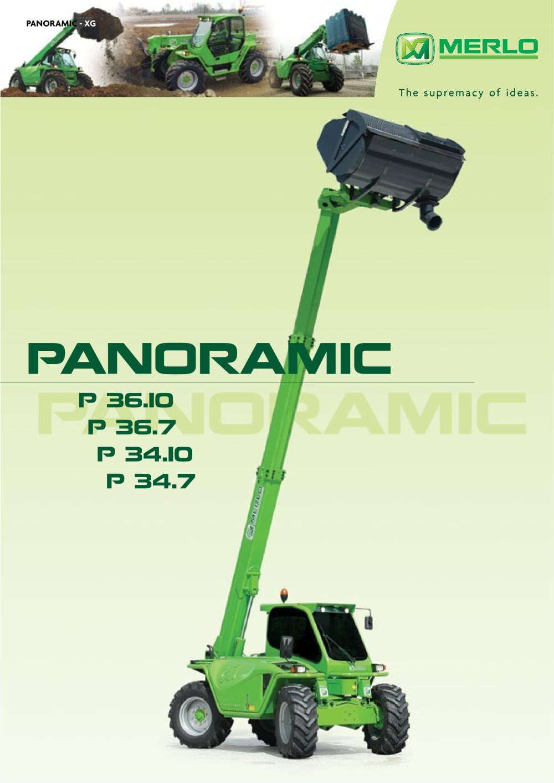 panoramic p 34 10 merlo spa pdf catalogue technical rh pdf directindustry com merlo panoramic service manual merlo p34.7 service manual