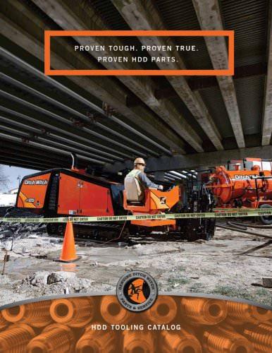 HDD TOOLING CATALOG - The Charles Machine Works, Inc - PDF