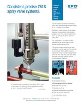 781S spray valve system