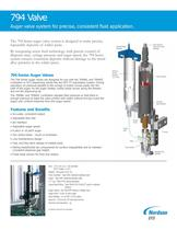 Auger Valves
