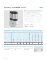 Electrical Pressure Regulators MS6N-LRE � Inch Series