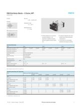 FRM Distributor Blocks � D Series, NPT