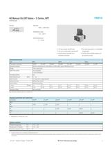 On-off/soft-start valves HE/HEE/HEP/HEL, D series, NPT