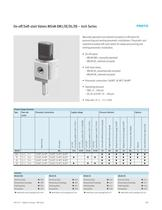 On-off/Soft-start Valves MS4N-EM1/EE/DL/DE � Inch Series