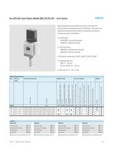 On-off/Soft-start Valves MS6N-EM1/EE/DL/DE � Inch Series