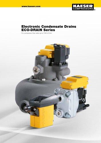 Condensate drains ECO DRAIN series